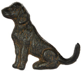 Cast Iron Dog Shaped Wall Hook in Choice of Pose