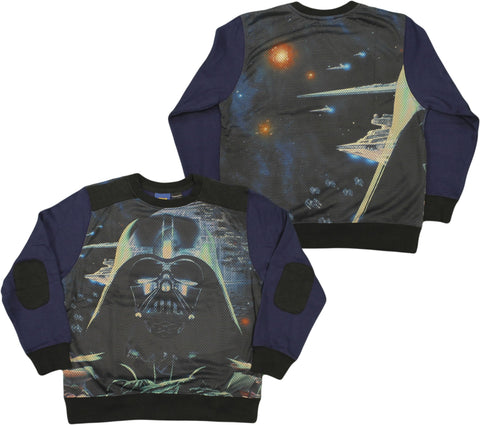 Boys 4-7 Star Wars Darth Vader Portrait Premium Sublimated Fleece Sweatshirt (4)