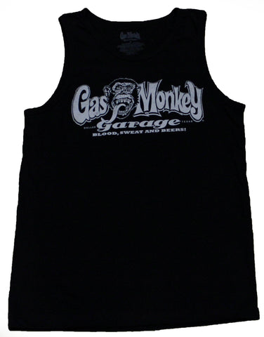 Fast N Loud Gas Monkey Garage Blood, Sweat N Beers Men's tank Top
