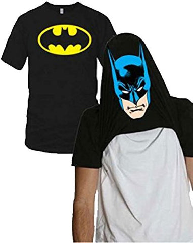 Batman Face Flip-up Reversible Tee Shirt