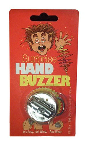 Hand Buzzer (Carded) Novelty Toy by Forum Novelties