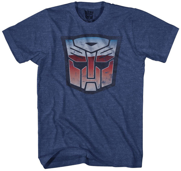 Transformers Men's Stressed Autobots Short Sleeve T-Shirt