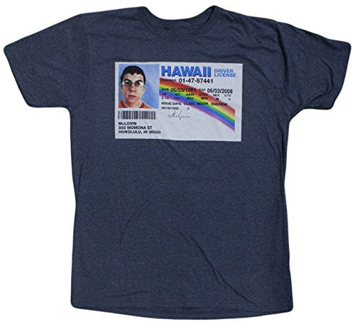 Superbad Men's Driver License Graphic T-Shirt