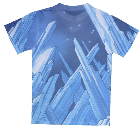 DC Comics Superman Solitude Sublimated Premium All Over Print Men's T-Shirt