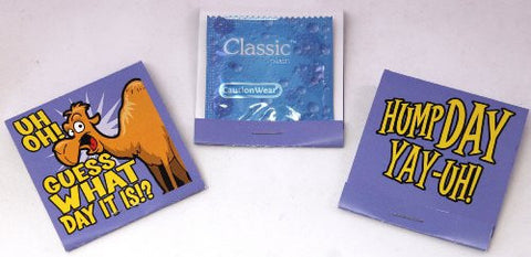 Camel Commercial Hump Day Condoms (Lubricated, Latex) - Set of Three