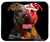 Dog Lovers Maryland Flag Pitbull High Quality Mouse Pad