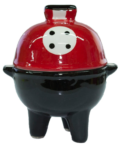 Adorable Stacking Salt and Pepper Shaker Set- Grill