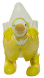 Ganz Rainy Day 6 Inch Duck Duck Wearing Rain Gear Figurine (Leaning)