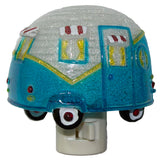 Camper Lovers Colorful Trailer Shaped Night Light