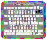 Mouse Mats Mac Adobe Shortcut Cheat Sheet Sublimated Mouse Pad