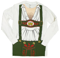 Men's OctoBEERfest Oktoberfest Costume Long Sleeve Shirt