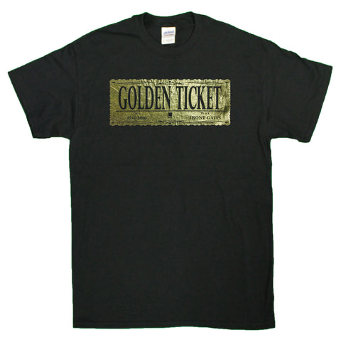 Men's Gene Wilder Tribute Golden Ticket T-Shirt