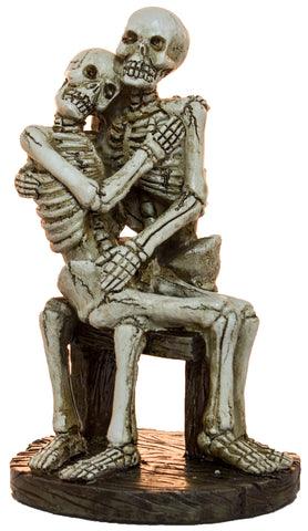 Halloween Day Of The Dead Decoration- Loving Skeleton Couple