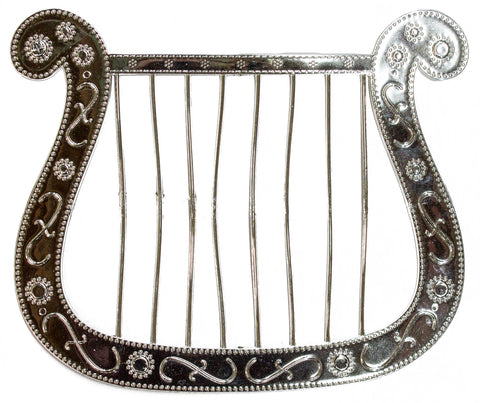 Costume Accessory -Silver Harp For Angel Costumes