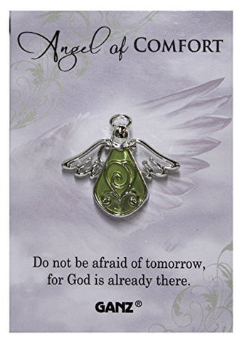Ganz Angel of Comfort Tac Pin with Story Card