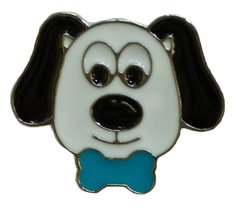 Hat Lapel Flair Tie Metal Pin With Colorful Enamel -Dog