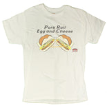 "Men's ""Pork Roll Egg and Cheese"" Exclusive Diner Series Funny T-Shirt"