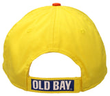 Old Bay Seafood Seasoning Label Men's Baseball Cap Hat (one size, adjustable)