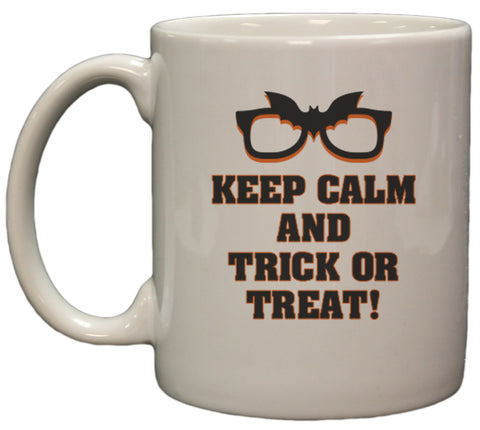 Keep Calm and Trick Or Treat Halloween 11oz Coffee Mug