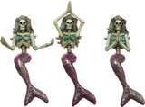 Ganz Dead Sea Mermaid Yoga Skeleton Shelf Sitters In Choice Of Pose