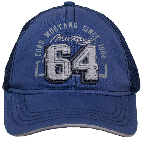 Ford Mustang Since 64  Adjustable Snap Back Hat