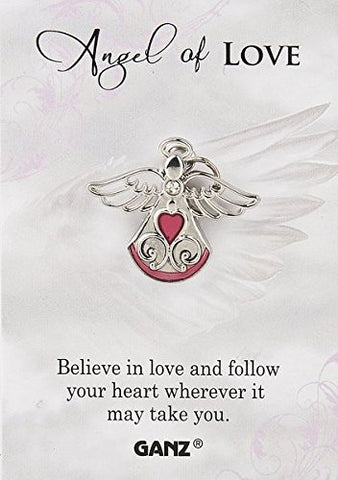 "Ganz Pin - Angel of Love ""Believe In Love And Follow Your Heart Where Ever It May take You."""