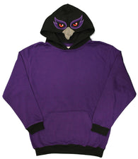 Baltimore, Maryland Purple Friday Raven Face Men's Costume Hoodie
