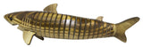 13 Inch Movable Notched Wood Wiggle Shark