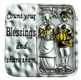 Ganz Blessings of the Season Thanksgiving Charm With Story Card!