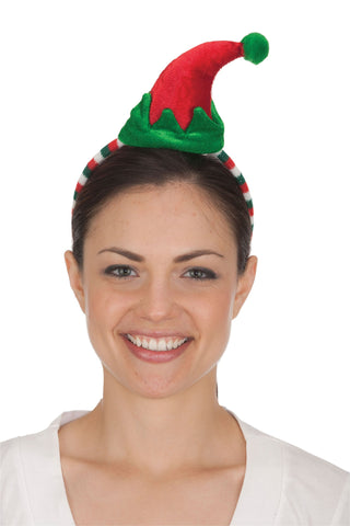 Costume Accessory Christmas Elf Hat Headband, One Size Fits Most