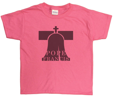 "Unisex Kids 4-20 ""Pope Francis"" Commemorative Youth T-Shirt"