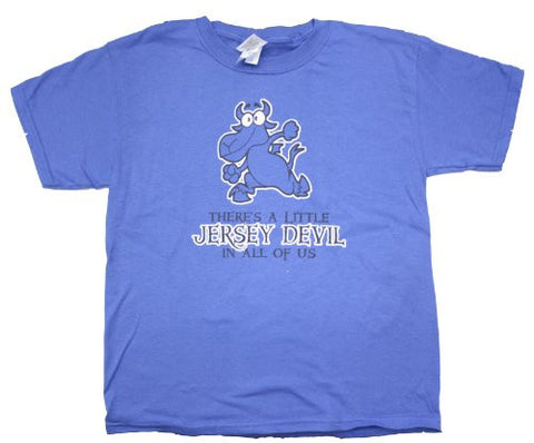 There's A Little (New) Jersey Devil In All Of Us Youth T Shirt