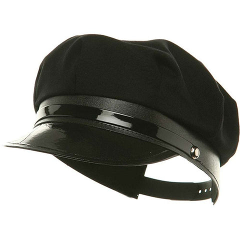 Adult Black Chauffeur Cap