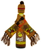 Bundle Up Festive Fall Bottle Beanie & Scarf Set