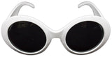 Mod White Sunglasses - One-Size