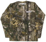 Stock Your Ammo and Rock Your Camo Men's Realtree Camoflauge Long Sleeve T Shirt