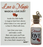 Love is Magic Magical Love Dust Bottle Charm with Story Card (Eternal Love)