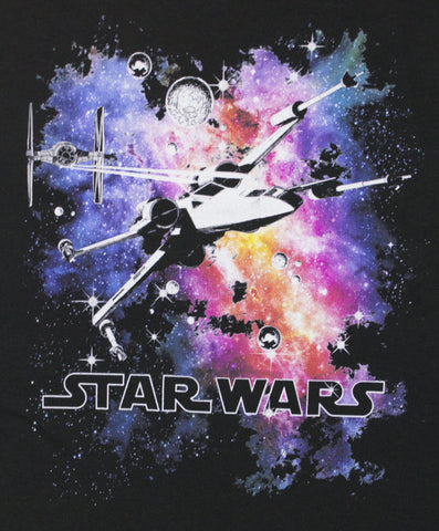 Men's Star Wars Vibrant Space X-Wing T-Shirt