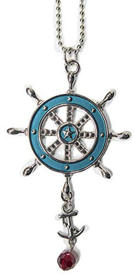 Ganz Car Charm Nautical Collection - Ship Wheel