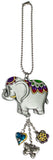 Ganz Car Charm Colored Elephant