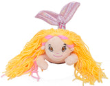 14 Inch Glitter Sparkle Swimming Mermaid Plush Toy (Pink)