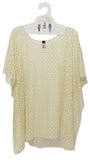 Tempo Easy Style Poncho Mesh Beach Coverup