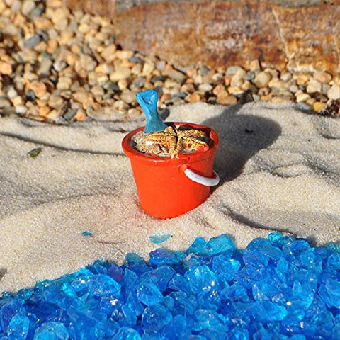 Bucket With Sand Figurine - At The Shore Fantasy Collection by Ganz