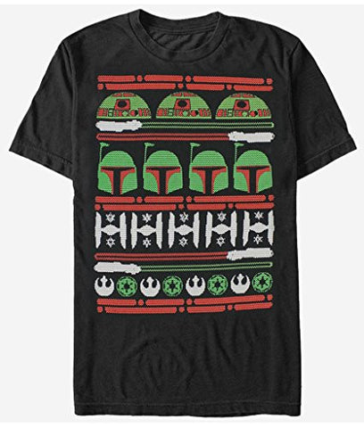 Official Star Wars Epic Ugly Sweater Christmas Edition Men's T-Shirt