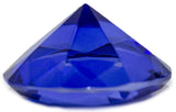 2 Inch Medium Multifaceted Solitare Cut Jewel Paperweight