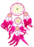 "20"" Long Feather/Beaded Hanging Dream Catcher"