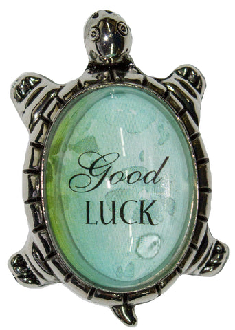 1.5 Inch Lucky Turtle Figurine - Good Luck - By Ganz