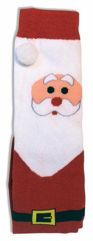 Forum Novelties Women's Adult Christmas Socks, Santa, One Size