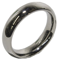 Men's Stainless Steel Dress Ring Solid Band 026