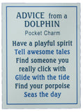 Ganz Advice From a Dolphin Pocket Stone with Story Card!